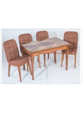 Lüx Cafe Masa Sandalye Takımı 43